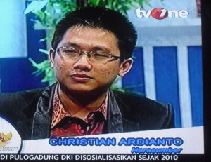 Christian Adrianto Motivator Terkenal Indonesia di TV One