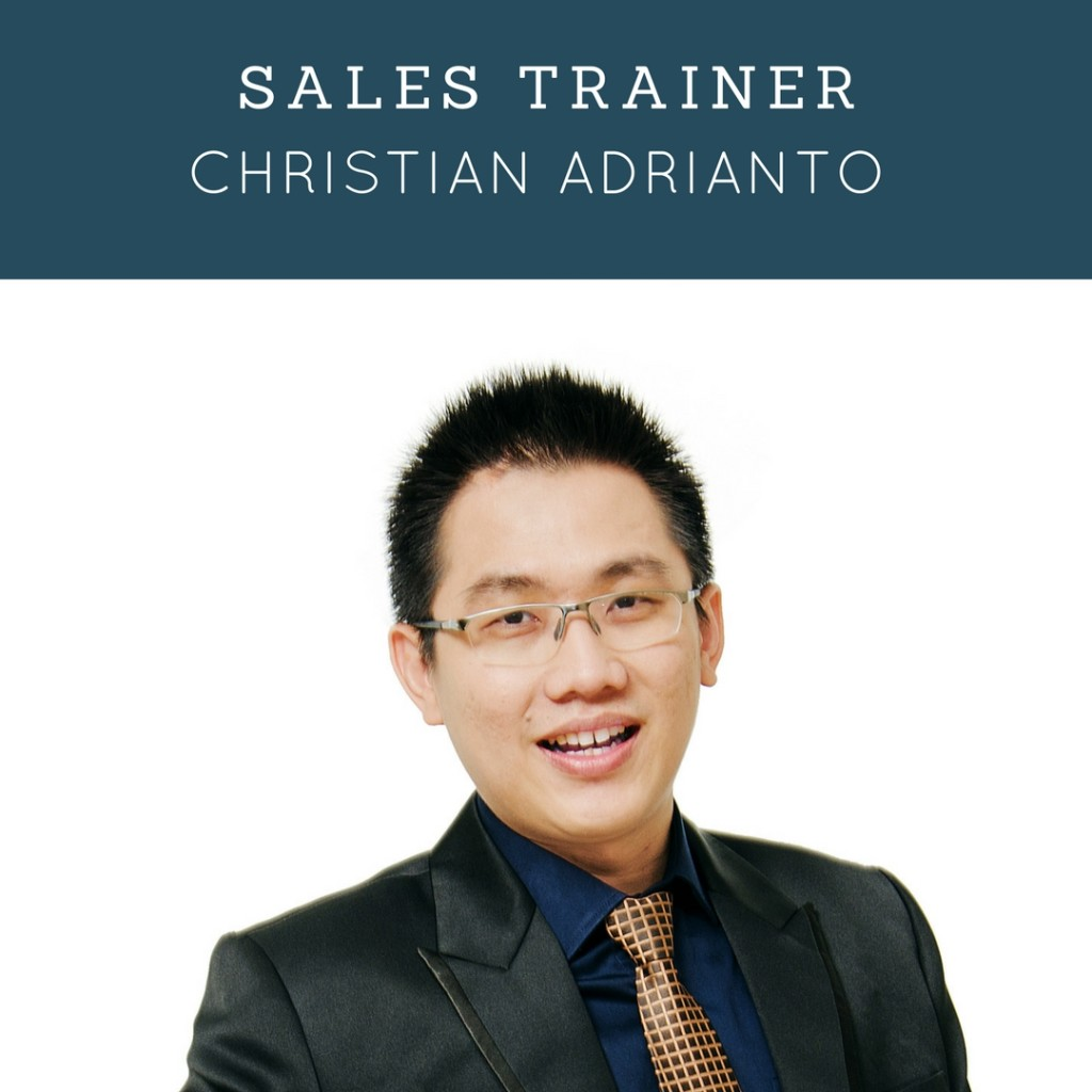Sales Trainer & Selling Skill Terbaik Indonesia - Christian Adrianto