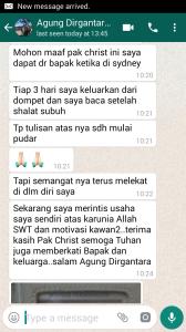 testimoni christian adrianto