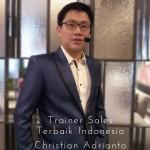 Trainer sales terbaik indonesia Christian adrianto